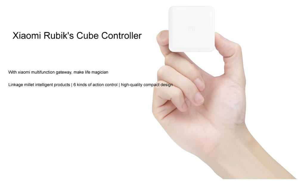 image for Xiaomi Mi Cube Controller Zigbee Version Gateway Controlled By Six Act