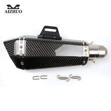 Universal 36-51MM Modified Motorcycle Exhaust Pipe Muffler FOR SUZUKI 600/750 KATANA DR 650 S GSXR1300 B-KING GSX-S1000