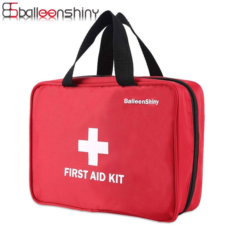 BalleenShiny Große Tragbare Leere Medizin Organizer Drug Pille Aufbewahrungstasche First Aid Kit Notüberlebens Reisetasche Im Freien