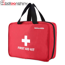 ФОТО BalleenShiny Large Portable Empty Medicine Organizer Drug Pill Storage Bag First Aid Kit Emergency Survival Bag Travel Outdoor