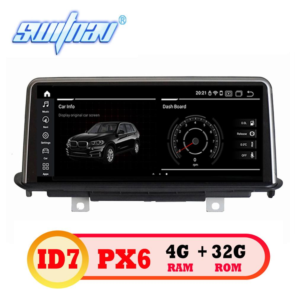 Android 9 0 ID7 6 core CAR DVD FOR BMW X5 F15 2014 2017 Original NBT