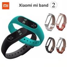 Xiaomi mi группа 2 браслет браслет oled дисплей сенсорная панель smart монитор сердечного ритма bluetooth фитнес-трекер новый оригинальный