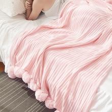 100 * 150センチ大人高級大きなソフトハンドニットスロードラゴンボール毛布手作りニットホームソファベッド綿暖かい毛布
