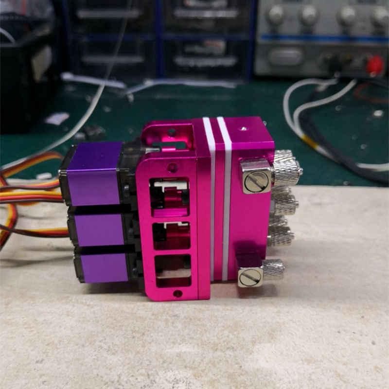3CH válvula hidráulica parte camión volquete cargador 1/14 RC modelo piezas