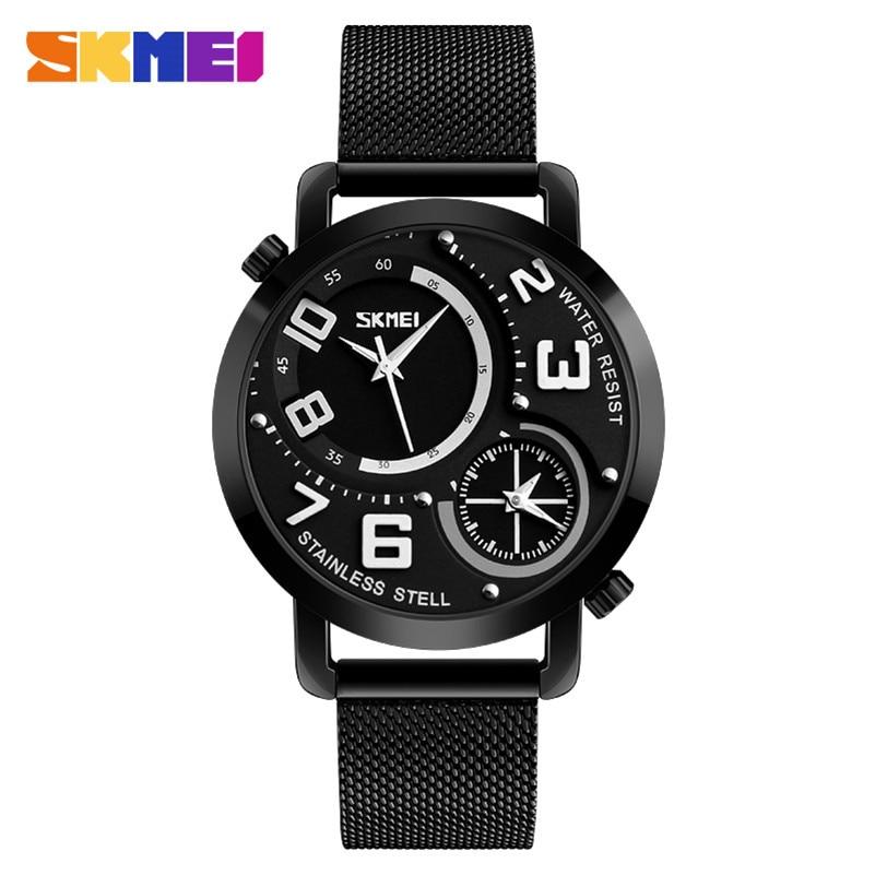 Biznes Wrist Watch Mężczyźni Zegarki SKMEI Top Luksusowa Marka - Męskie zegarki - Zdjęcie 1