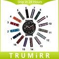 18mm de nylon correa para huawei watch asus zenwatch 2 mujeres wi502q tela Banda OTAN Correa de Muñeca Pulsera Multi Color + Herramienta Pins