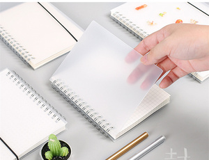 Journal A6 Notebook PP Grid Dotted Dot Blank Drawing Planner Agenda Book Time Management School Supplies Stationery Gift