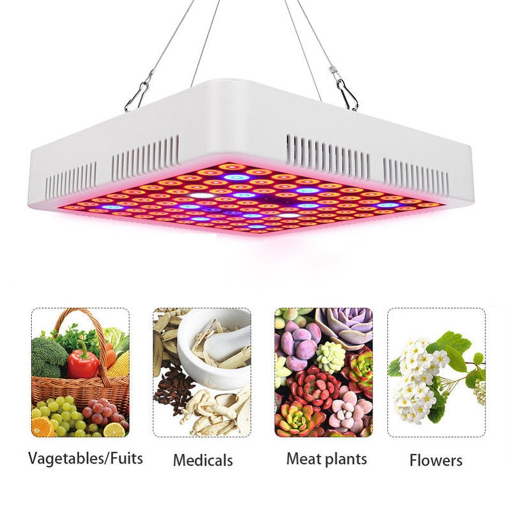New Style 300W LED Full Spectrum Plant Grow Light Lamps For Flower Plant Veg Hydroponics Indoor Flower System Grow/Bloom Tent