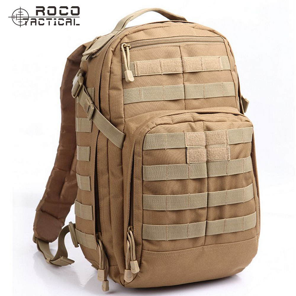 ROCOTACTICAL Molle Tactical Backpack Tactical Rush Assault Backpack Hiking Backpack Camping Military Backpack|backpack outdoor|backpack 35l|backpack tactical molle - title=