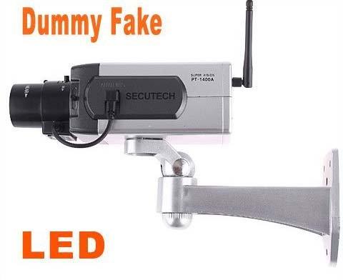 Wireless Dummy Fake camera Motion Detection LED Surveillance Camera,freeshipping, dropshipping