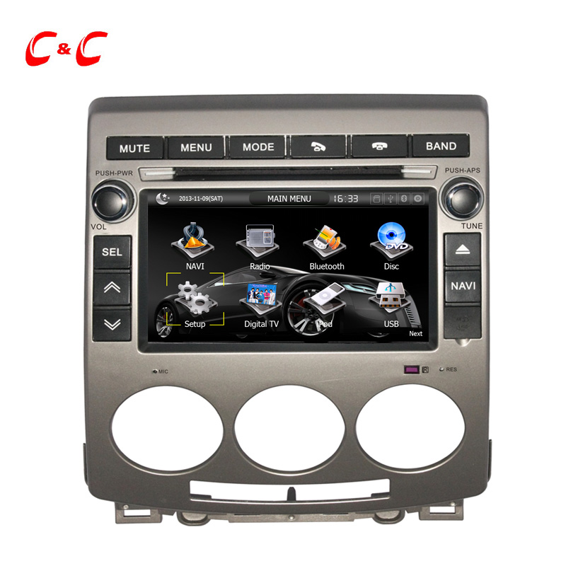 Updated Capacitive Screen font b Car b font DVD Player for Mazda 5 2005 2009 with