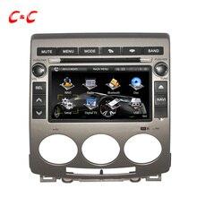 Actualizado Pantalla Capacitiva — Coches Reproductor de DVD para Mazda 5 2005-2009 con la Radio de Navegación GPS BT SWC Espejo enlace + Free 8G Tarjeta!!