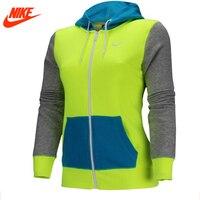 Ursprüngliche Nike weibliche frauen Hoodie Jacke Chris atmungsaktive jacke grün blau und grau