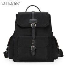 2017 Fashion Designer Leather Women Backpack School Backpacks for Girls Teenage Nylon Laptop Backpack Female Travel Shoulder Bag