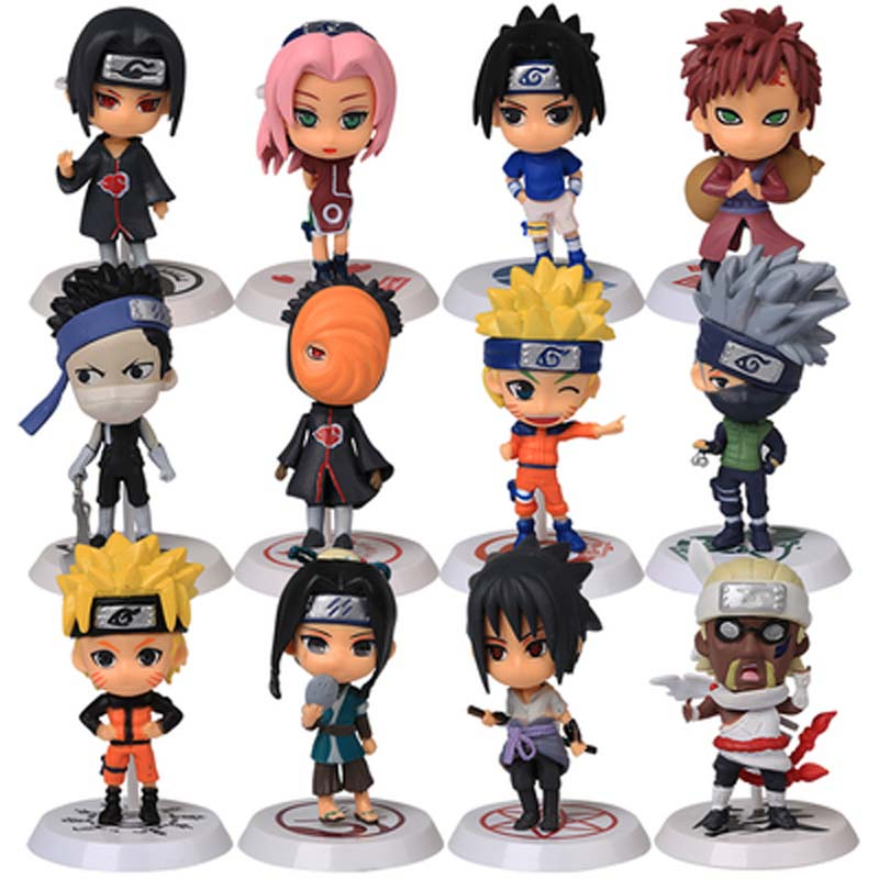 Anime Naruto Action Figure toys 3