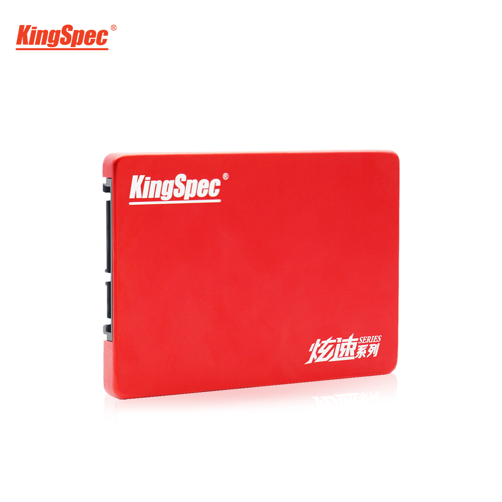 KingSpec 240GB SSD 120GB HDD 2.5 Inch SATA3 SSD 480GB Disco Internal SATA Schijf Drive Red Metal Case For Desktop Laptop Tablets