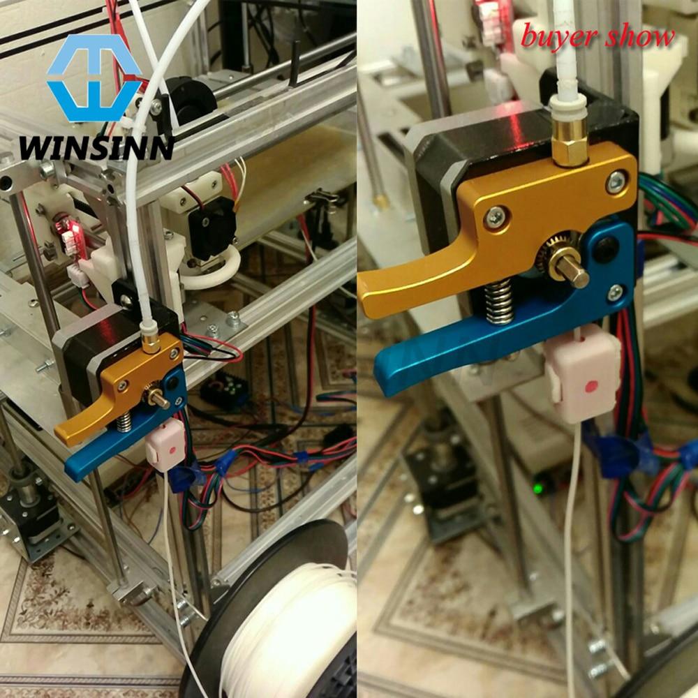 WINSINN MK8 Extruder Hotend Kit Driver Feeder .4mm Nozzle Print Head 1.75mm Filament 3D Printer RepRap Prusa i3 Bowden Makerbot