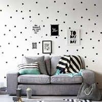 Mini Gold Polka Dots Wall Sticker DIY Vinyl Interesting Wall Art Nursery Dot Decals Kids Room waterproof wallpaper Home Decor