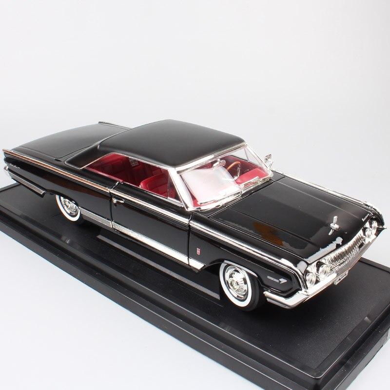 Дорожные подписи, 1/18, Большие весы, ретро мускулы, ford 1964, Меркурий, Мародер, металлические модели автомобилей, диecasts и игрушечные машины для д...