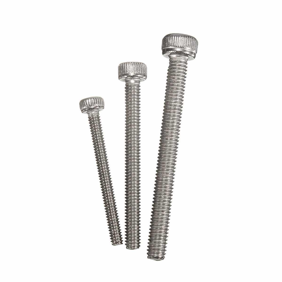 300pcs/box MXSS2 M2/M2.5/M3 Stainless Hex Socket Cap Head Screws Allen bolt Nut Assortment Kit