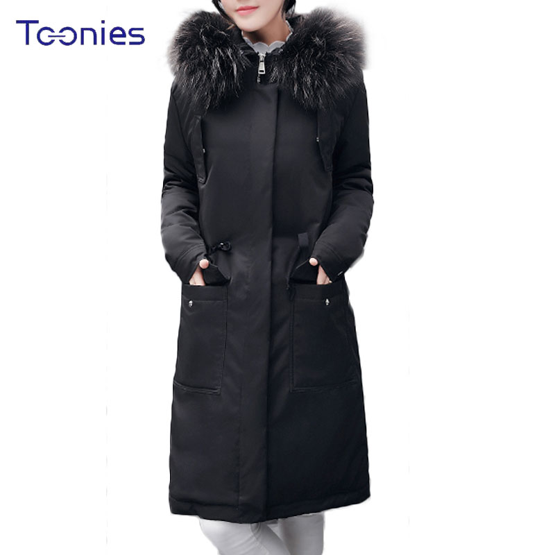 2017 Winter Women Thicken Warm Parka Coats Female Cotton Wool Hooded Long Padded Jackets Mujer Letters Print Manteau Femme Hiver tuhao lady down cotton pure color manteau femme hiver thick warm jackets 2017 new autumn winter women hooded long coats lw20