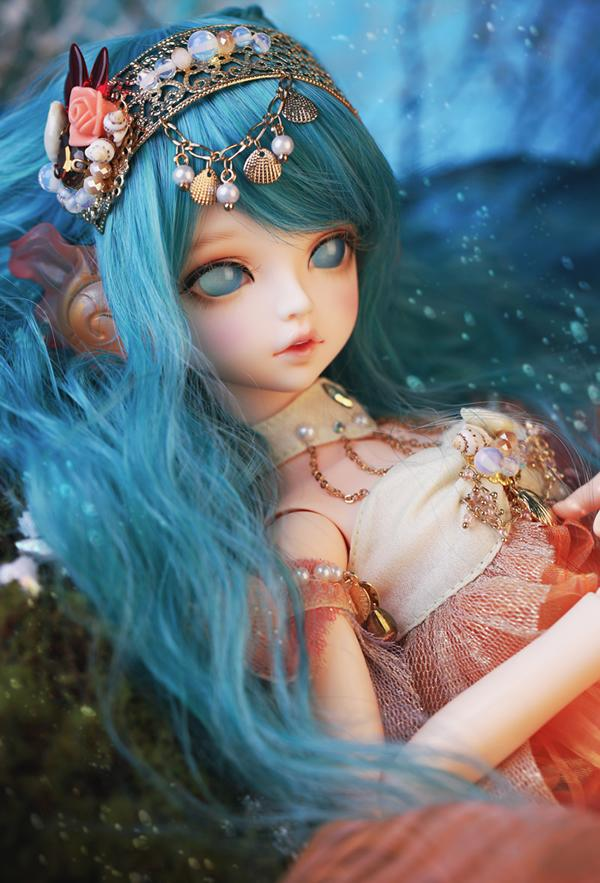 1/4 scale BJD nude doll about 40cm.recast BJD girl Serin & Rico with human body and head.include clothes;shoes and wig,A15A1785 1 4 scale bjd lovely cute bjd sd human body kid serin