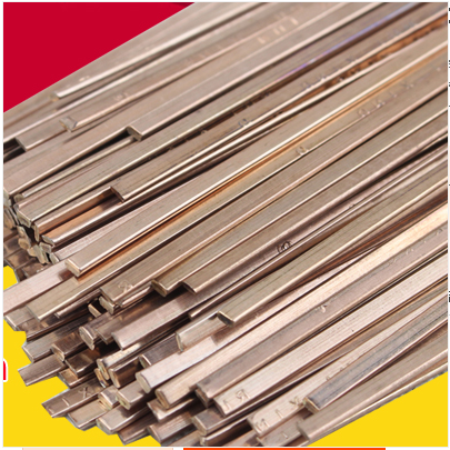 10 PCS Flat Copper Electrode Air - Conditioned Refrigerator Welding Special 1.3 * 3.2 Mm The Phosphor Copper Welding Rod