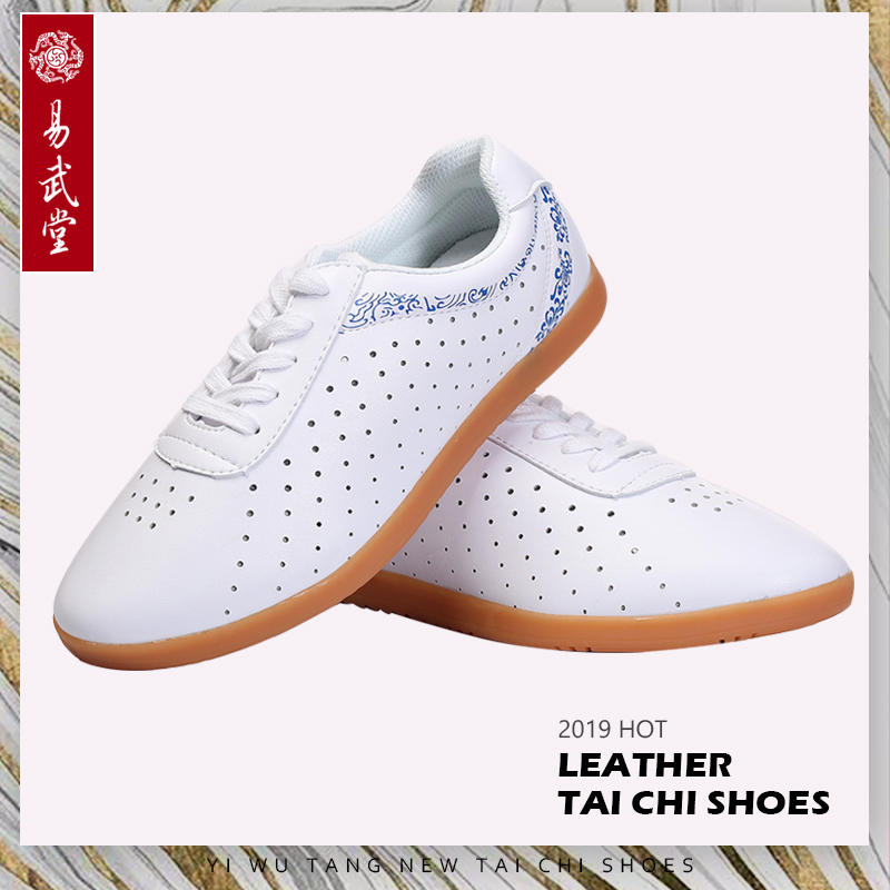 Martial arts Kung Fu shoes Tai chi Taolu holes Shoes Wushu Breathable Shoes Rubber Soles for Men Women Summer in Martial Arts Shoes from Sports Entertainment
