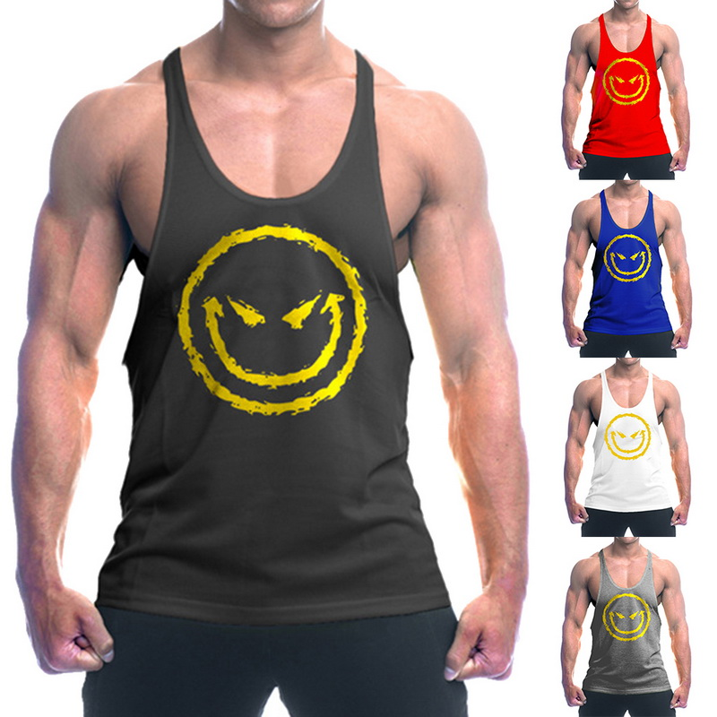 Calofe 2019 New Bodybuilding Fitness Clothes Men Sweatshirts Men's Sleeveless Tank Tops Running Shirt Basketball Football Vest