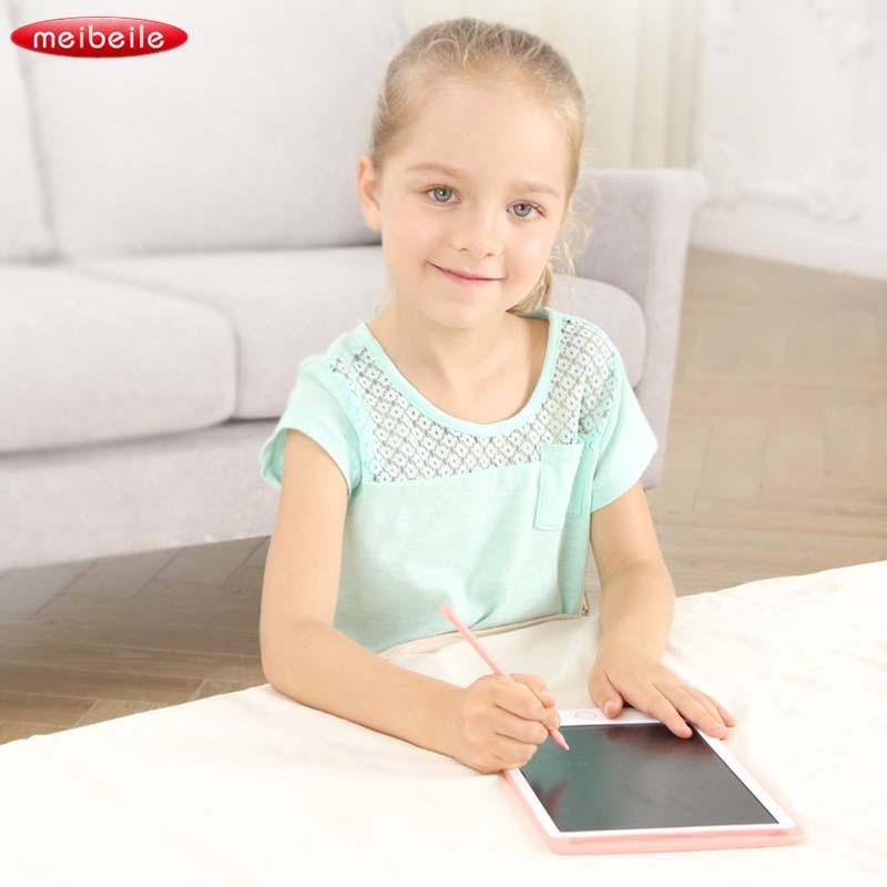 LCD Électroniques Tablette Portable Électrique Bloc-Notes Chikdren Conseil D'écriture des Enfants Cadeau Numérique Dessin Écriture Pad