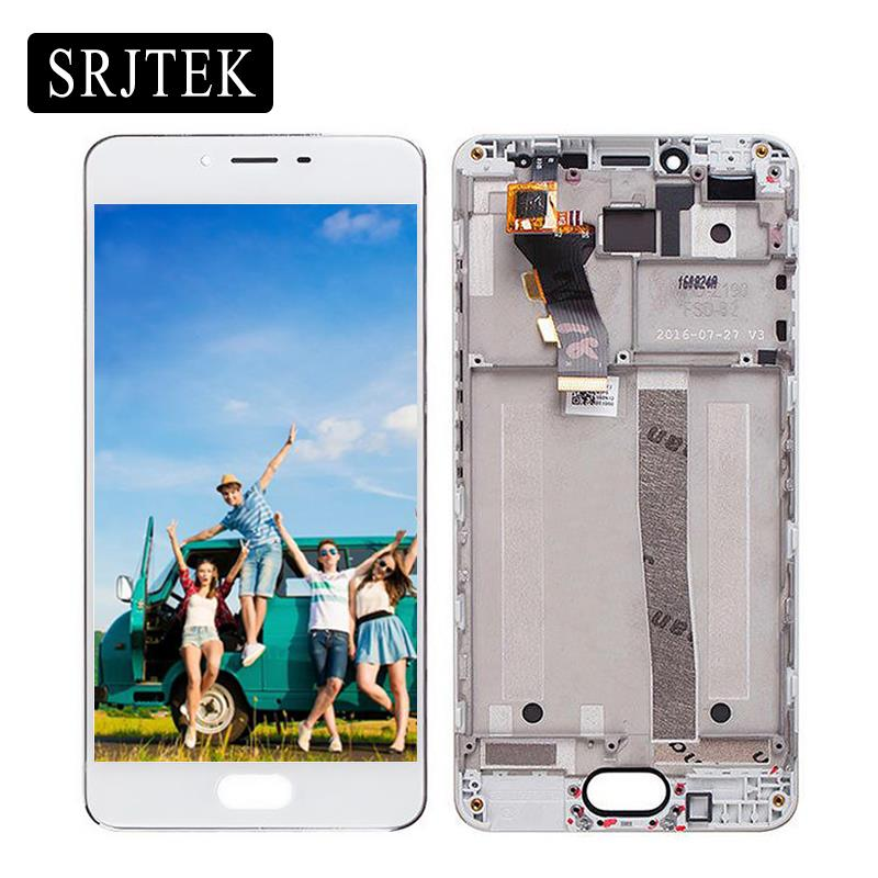 Srjtek 5.0 For Meizu M3S Mini LCD Display Touch Screen Digitizer Glass Assembly /Frame For M3 S Mini Y685H Replacement Parts