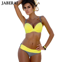 JABERAI Marca Bikini 2017 Costume Da Bagno Swimwear Donne Costume Da Bagno Bikini Sexy Set Push Up Beachwear Swim Wear Costume Da Bagno Biquini
