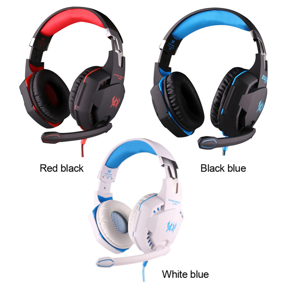 YCDC 3 color EACH G2100 Gaming Headphone Vibration Function Headset with Mic Stereo Bass Earphone LED Light Volume for PC Laptop rock y10 stereo headphone earphone microphone stereo bass wired headset for music computer game with mic