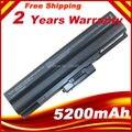 Black 6 Cells Laptop Battery For Sony VAIO CS FW SR VGN TX Series VGP-BPS13AB VGP-BPS13B/Q VGP-BPS13B VGP-BPS13A free shipping