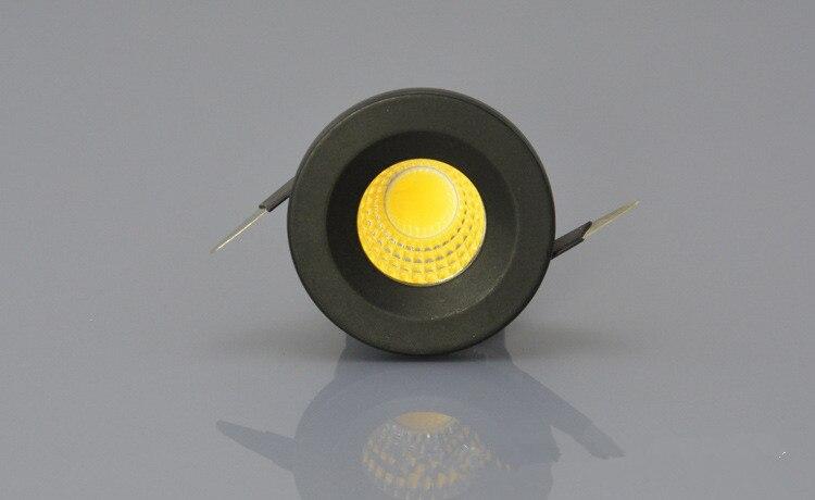 5 Вт удара мини-светодиодный свет вниз AC85-265V Теплый Холодный белый светодиод под шка ...