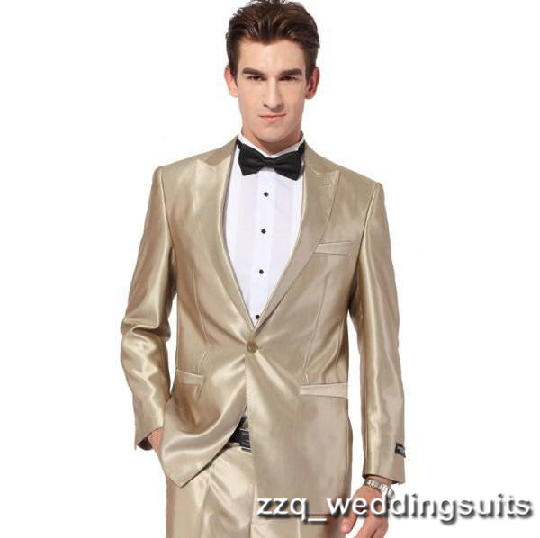 Popular Gold Tuxedo Jacket-Buy Cheap Gold Tuxedo Jacket lots from ...