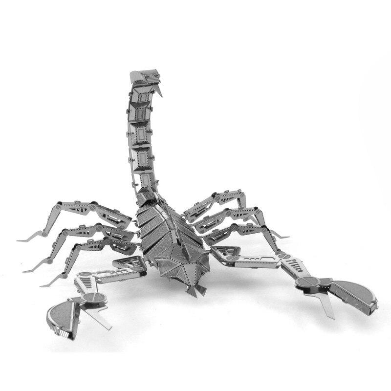 Scorpions 3D Metal Puzzle DIY Assemble Assemble