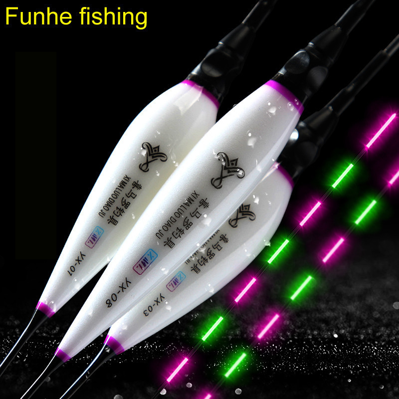 Brand New Hollow Design Luminous Floats Composite Nano Fishing Floats 10 Models Availalbe Pesca Fishing Accessories Tool Tackles
