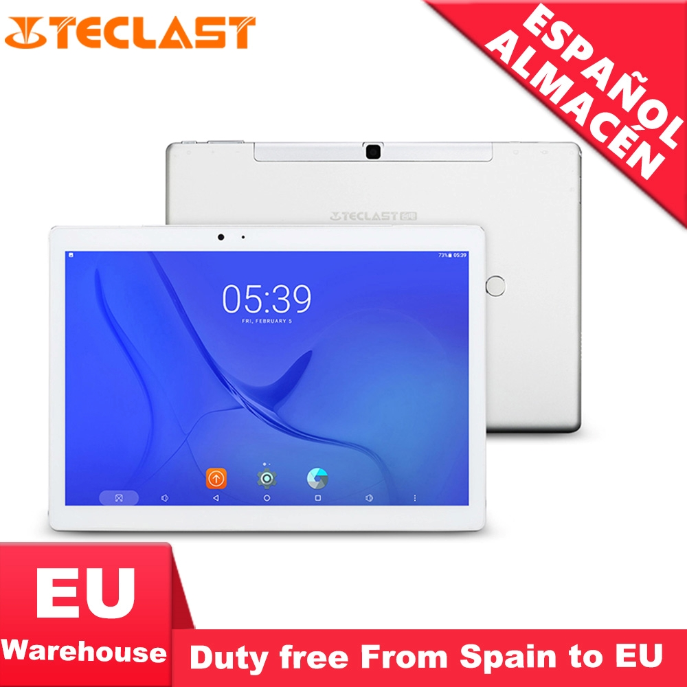 Teclast T20 Helio X27 Deca Núcleo 4 GB RAM 64G Dual 4G SIM Android 7.0 os 10.1 Polegada tablet