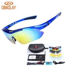 5 Lens Polarized Glasses Cycling Sunglasses Ski Bicycle Outdoor Sport Fishing Eyewear Glasses Cool gafas de sol polarizadas