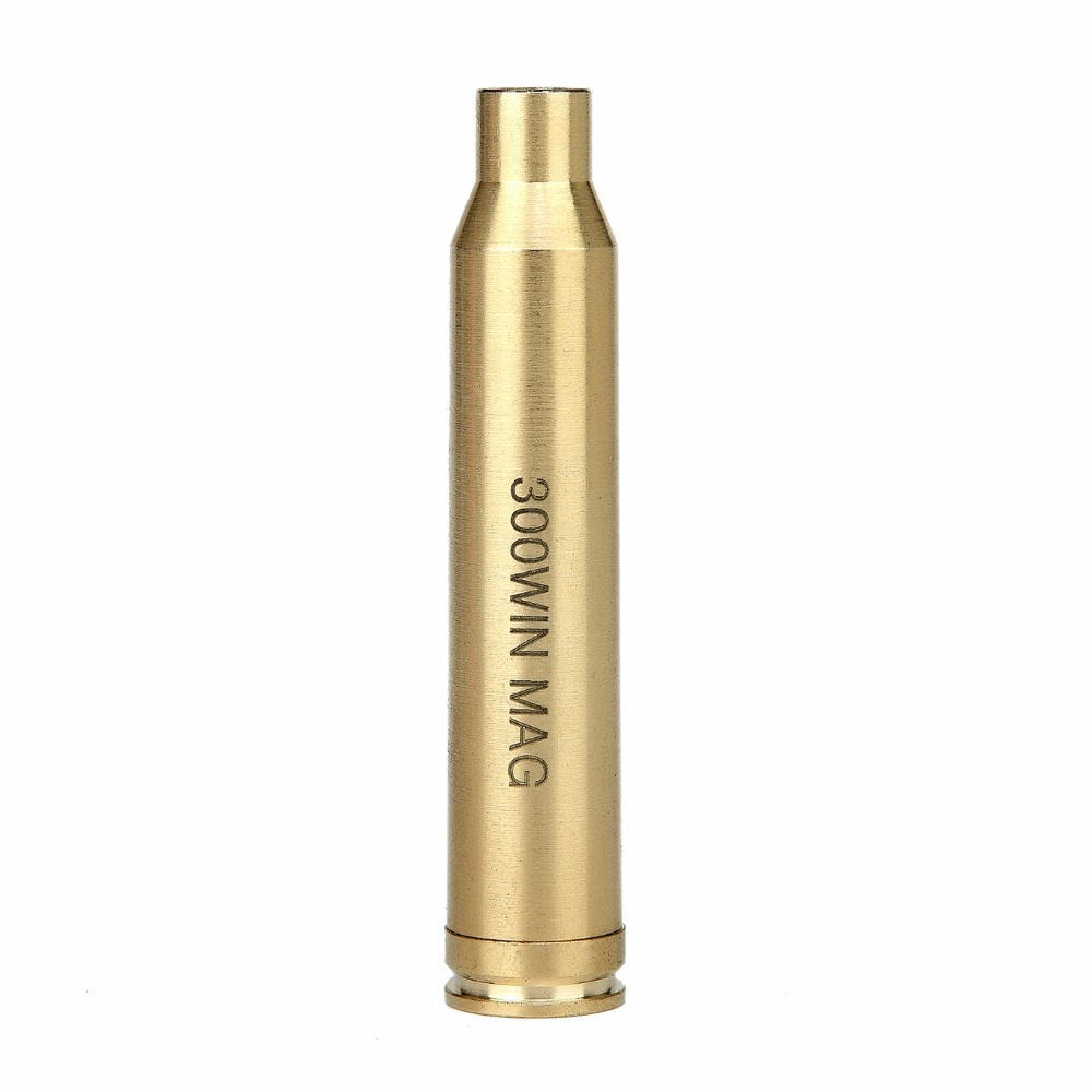 Spike Tactical 300 WIN MAG Bullet High Quality Brass Cartridge Red Dot Laser Bore Sight