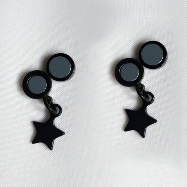 Magnetic Stud Earrings 316l Stainless Steel Magnet Earrings Jewelry for Men and Women Fake ear Stud non piercing