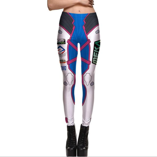 Autumn Winter Leggings Printed Women Leggins 3D Digital Sexy Legins High Waist Elastic Leggins Silm Women Pants