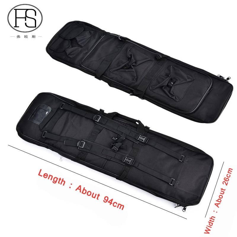 High Density Nylon Outdoor Airsoft Tactical Rifle Backpack Men 94cm Hunting Gun Shoulder Bag War Game Military Gun Pouch