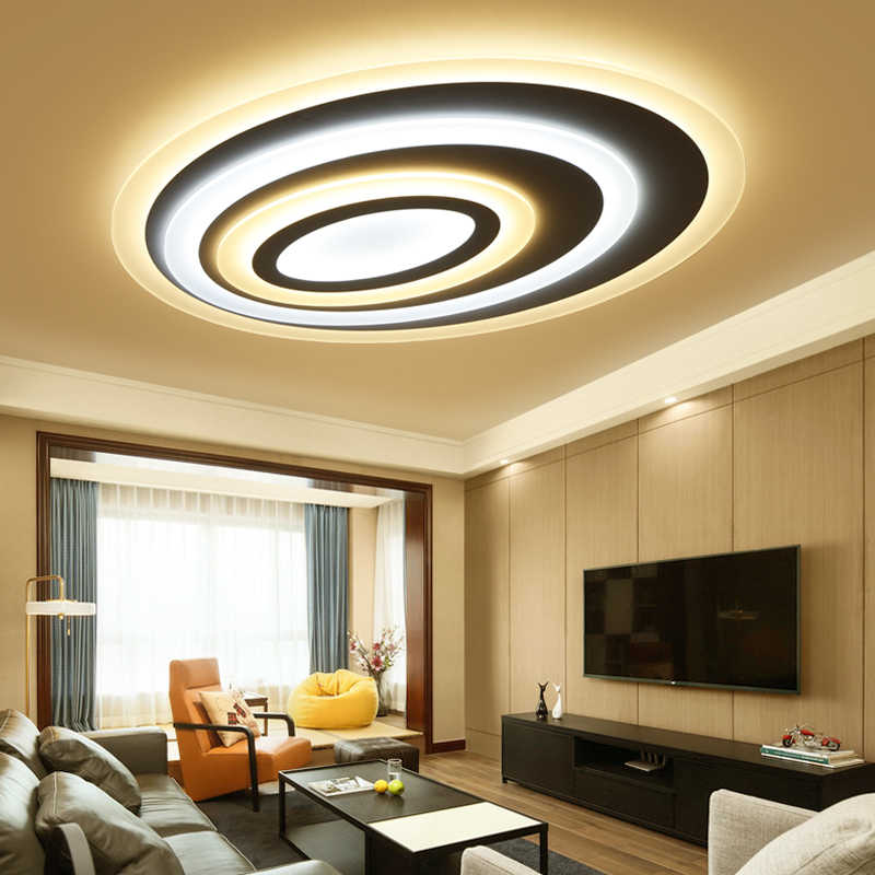 2019 Modern led ceiling lights for living/dining room