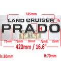 3D Lettering for LAND CRUISER+PRADO separate letter emblem sticker For Toyota Landcruiser Rear trunk boot side door spare tire