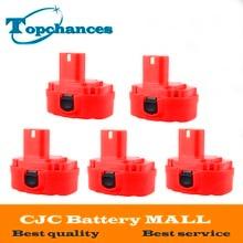 5PCS 12V PA12 2000mAh Ni CD Rechargeable Battery for Makita Replacement Power Tool Battery for Makita