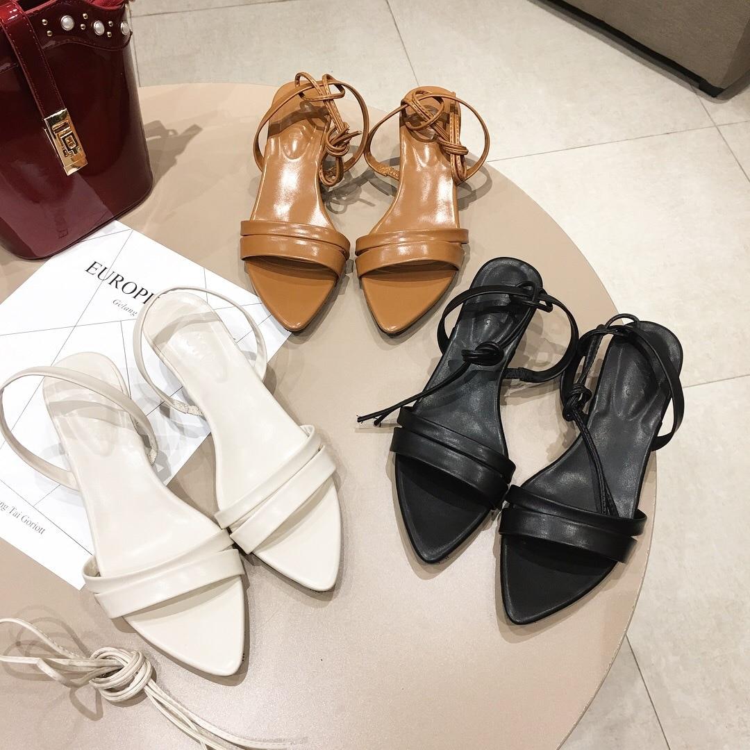 2180G new thin belt Roman shoes wearing stiletto heel side empty womens shoes2180G new thin belt Roman shoes wearing stiletto heel side empty womens shoes