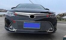 Acier inoxydable Calandre Autour de L'équilibre Racing Grills Pour Toyota Camry 2015 2016 Z2AA030