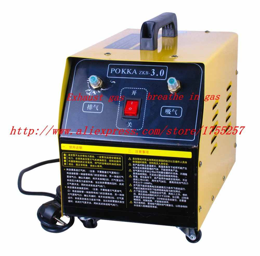 Refrigerant filling machine   / Suction and exhaust machine at the same time / Refrigerant suction and exhaust